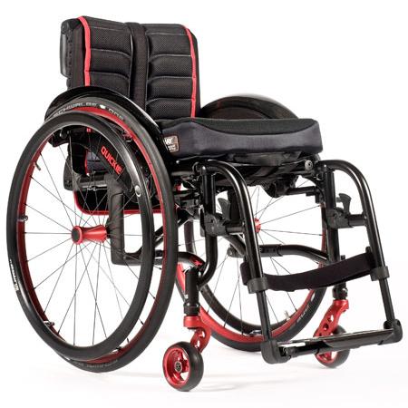 Neon 2 silla de ruedas ligera y plegable en ortored