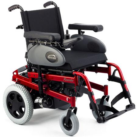silla de ruedas eléctrica Rumba en ortored