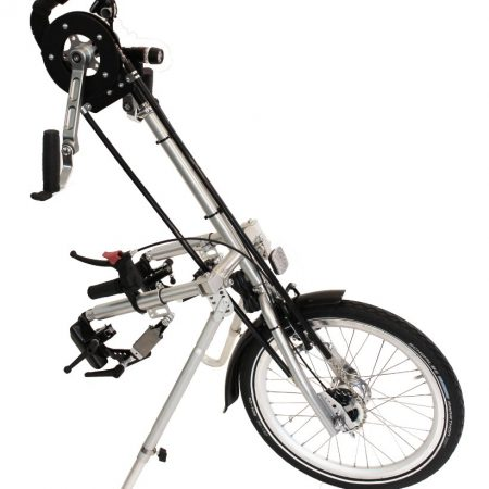 silla de ruedas handbike manual city