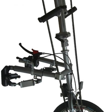silla de ruedas handbike manual plegable city compact