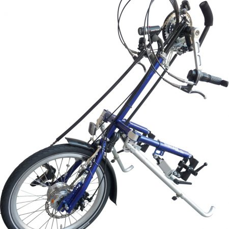 silla de ruedas handbike manual city max