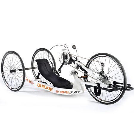 silla de ruedas handbike manual deportiva shark rt
