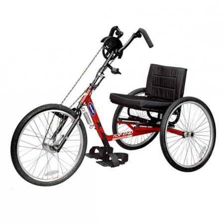 silla de ruedas handbike manual top end excelerator