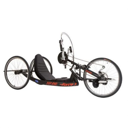 silla de ruedas handbike manual top end force 3