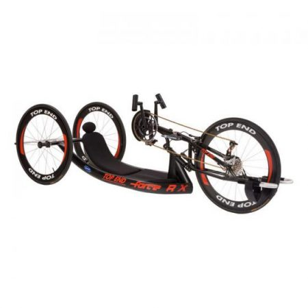 silla de ruedas handbike manual para profesionales top end force rx