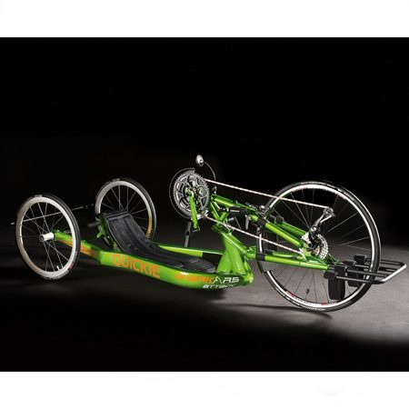 silla de ruedas handbike manual shark rs attack