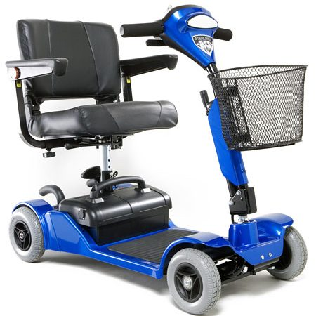 silla de ruedas scooter eléctrico little gem 2